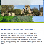 Duke - Global Education Office